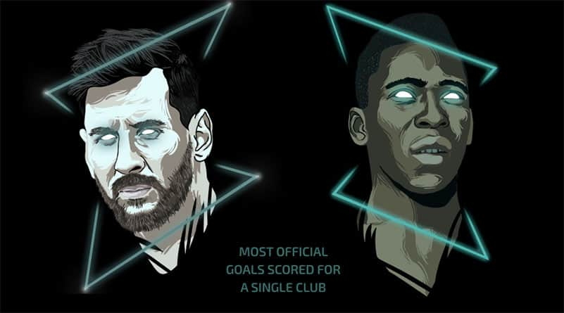 Pele Congratulated Messi One King Congratulated Another